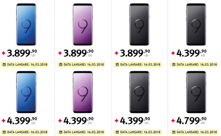 Samsung Galaxy S9 si S9 Plus Altex