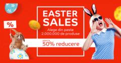 Campanie Easter Sales 2018 la eMAG