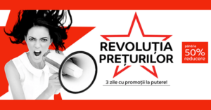 Campanie Revolutia Preturilor din 19 - 21 iunie 2018 la eMAG