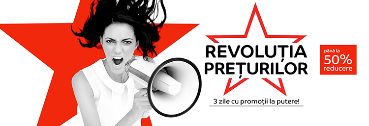 Revolutia Preturilor din 19 - 21 iunie 2018 la eMAG