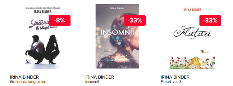 Romane Irina Binder Elefant