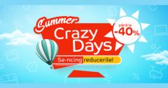 Campanie Crazy Days din 6 - 20 august la eMAG