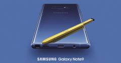 Comanda Samsung Galaxy Note 9