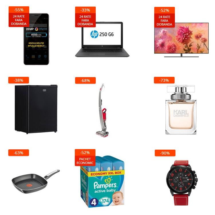 Oferte Mega Sale din 27 decembrie la eMAG