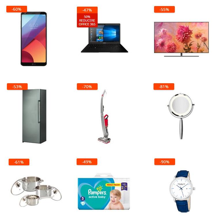 Oferte Revoluția Prețurilor la eMAG din 15-17 ianuarie 2019