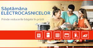 Campanie Săptămâna Electrocasnicelor din 1 - 7 aprilie 2019 la eMAG
