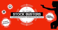 Campanie Stock Busters din 14 - 17 mai 2019 la eMAG