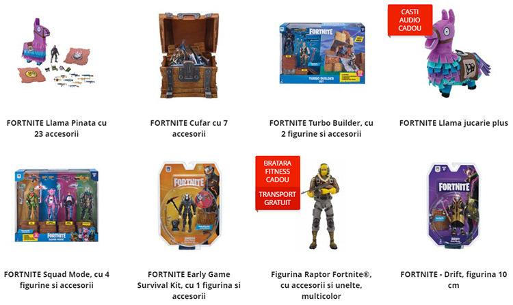 Jucării Fortnite eMAG