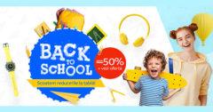 Campanie Back to School rechizite școlare eMAG