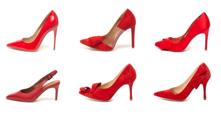 Pantofi roșii FashionDays