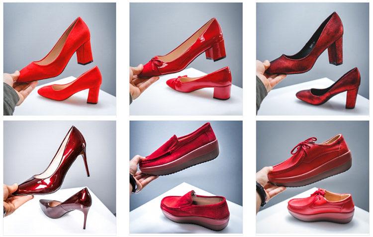 Pantofi roșii Modlet