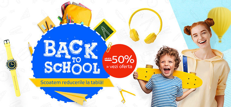 Rechizite școlare Back to School eMAG