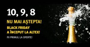 Campanie Black Friday 2019 la Altex