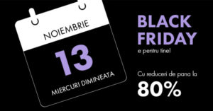 Campanie Black Friday 2019 la FashionDays