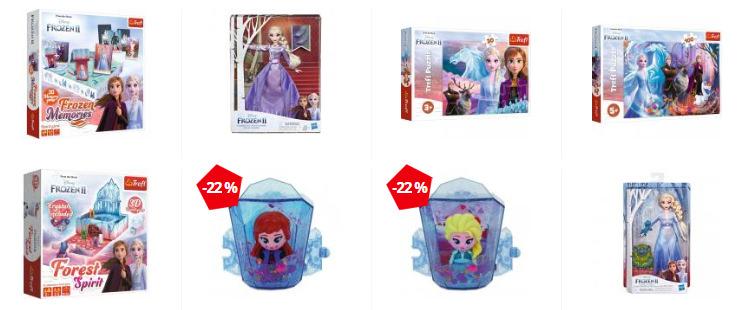 Jucării Frozen 2 Nichiduță