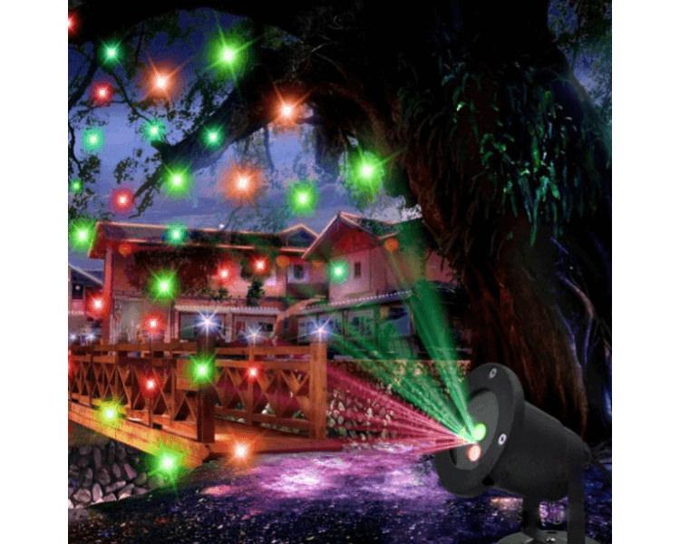 Proiector laser de Crăciun