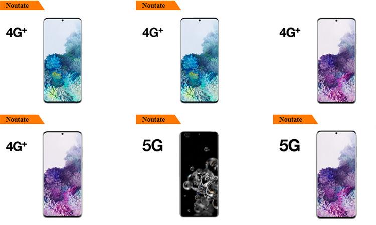Samsung Galaxy S20 Orange