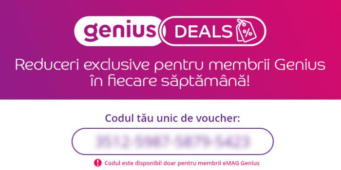eMAG Genius deals