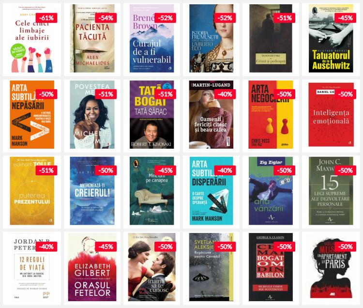 reduceri cărți zilele elefant 2020