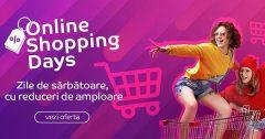 Online Shopping Days la eMAG