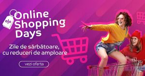 Online Shopping Days la eMAG