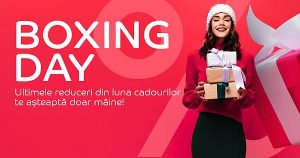 Boxing Day la eMAG