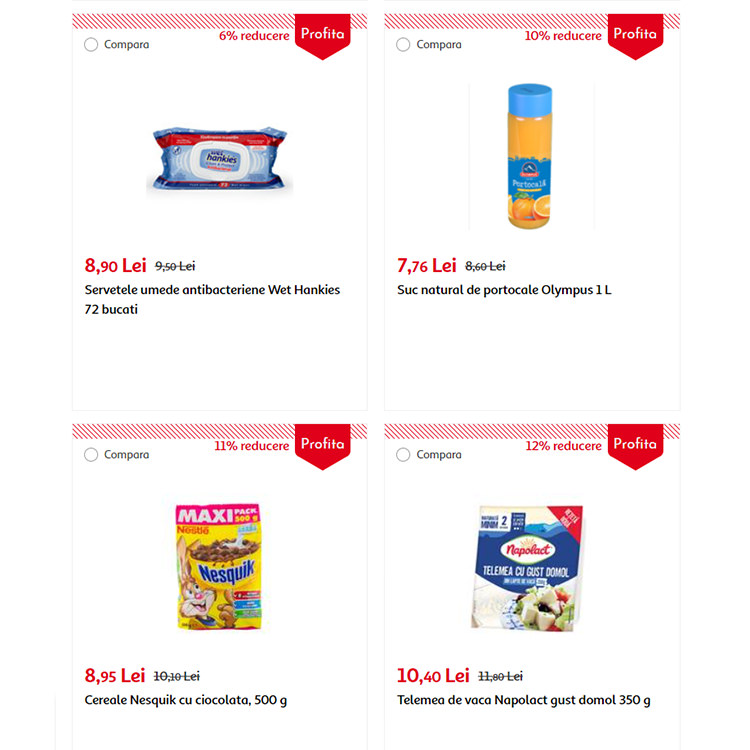 Oferte reduceri Auchan