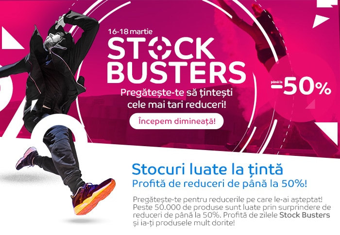 Stock Busters eMAG martie 2021