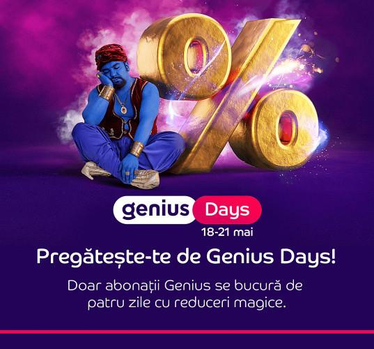 Genius Days 18-21 mai 2021