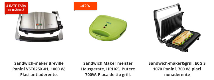 Sandwich maker eMAG