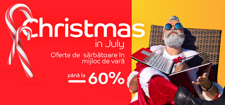 Christmas in July 2021 la eMAG