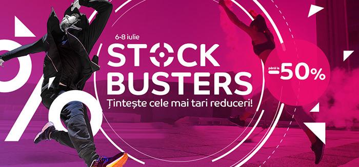 Stock Busters din iulie 2021 la eMAG
