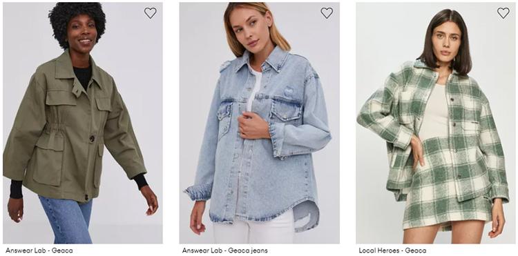 Jachete cămașă Answear