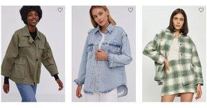 Oferte jachete tip cămașă