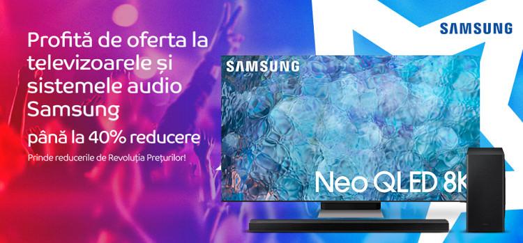 televizoare Samsung Revolutia Preturilor septembrie 2021